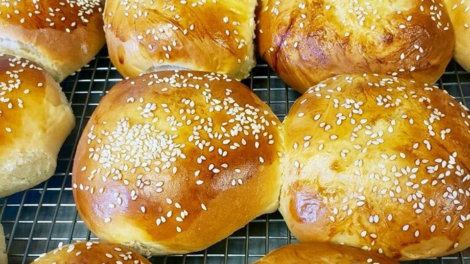 Fresh Baked Greek Sweet Rolls at Sophia's