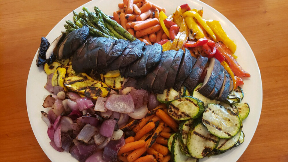 Grilled Vegetable Platter - Corporate Catering