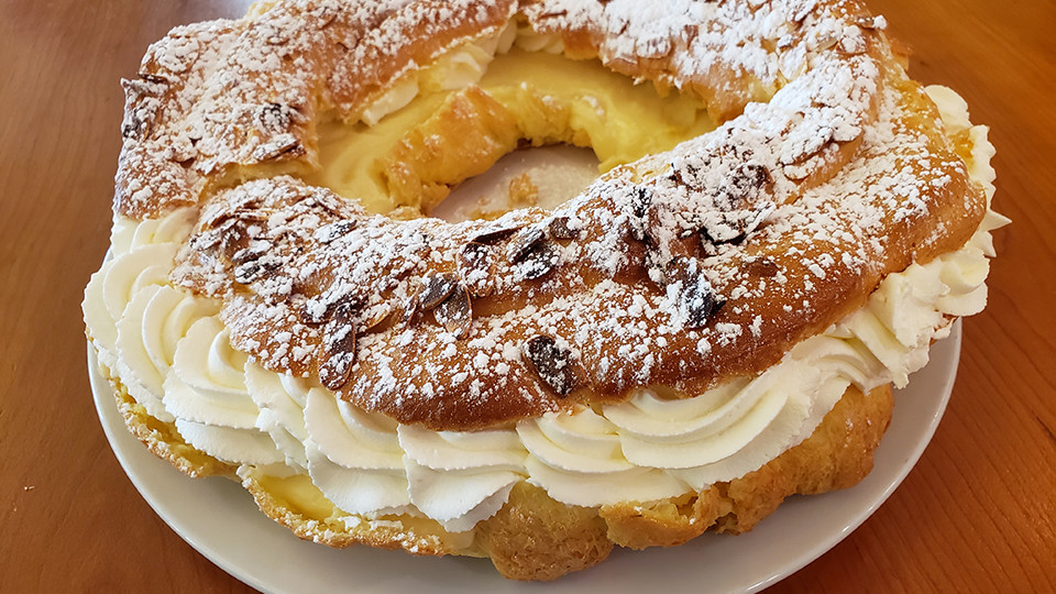 Made-From-Scratch Paris Brest at Sophia's at Walden