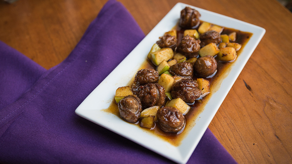 Sausage & Honey Appetizer