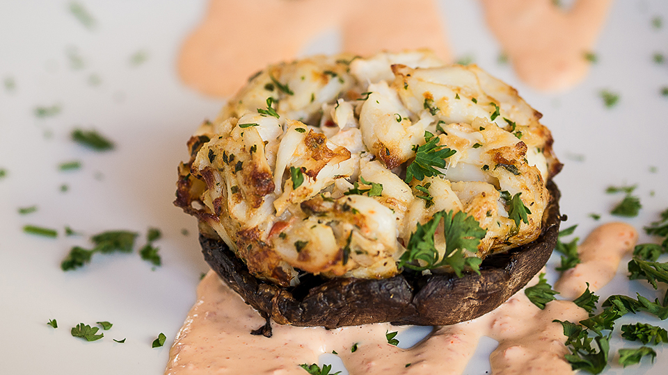 Crab Stuffed Portabella